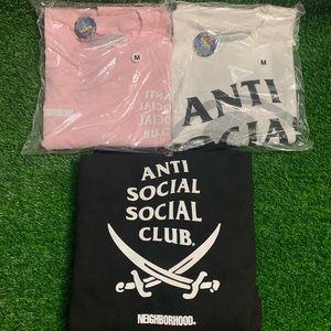 AntiSocialSocialClub x Neighborhood White Tee